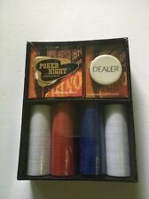 NIB POKER NIGHT A Texas Hold 'Em Kit All In One Card Kit You Choose The Game