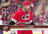 12-13 Upper Deck Update Jordan Staal /100 UD Exclusives Hurricanes 2012