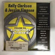 LEGEND SERIES KARAOKE KELLY CLARKSON & JESSICA SIMPSON VOLUME 196 CD+G DISC