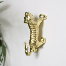 Gold tiger wall mounted coat hook home decor accessories kitchen utlity bathroom