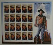 US SCOTT 3876 PANE OF 20 JOHN WAYNE STAMPS 37 CENT MNH