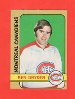 1972-73 O-Pee-Chee OPC  #145 Ken Dryden Nrmnt
