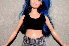 Sports Bra made for Curvy Barbie Fashionista Doll Clothes by TKCT black top