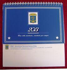CALENDARIO TAVOLO ANNO 2013 - A.N.M.I. (ASSOCIAZIONE NAZIONALE MARINAI D'ITALIA)