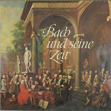 BACH And His Time (und seine Zeit) DGG Tulip/Archive 104 461 Oistrakh Karajan NM