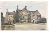 Derbyshire Postcard - Peacock Hotel - Rowsley - Ref 3878A