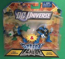 """Action League Hal Jordan & Saint Walker 2.5"""" figures DC Universe Mattel LANTERN"""