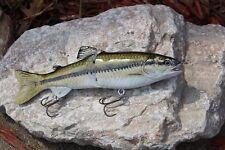 """Largemouth Bass 7"""" Glide Bait Big Bass Fishing Swimbait Lure"""