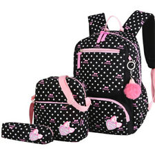 Niñas escuela bolsas Set Ortopédico Princesa Carteras Niños Mochila Chica Prim