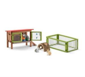 Schleich 42420 Rabbit Hutch