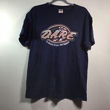 Vintage D.A.R.E. Dark Blue T-Shirt Size Large