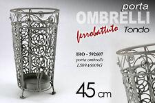 PORTA OMBRELLI IN FERRO BATTUTO TONDO H45 CM IRO-592607