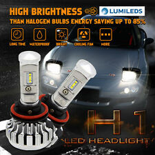 H1 180W LED Headlight Beam Conversion Kit PHILIPS 6000K 18000LM White Light Bulb
