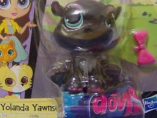 Littlest Pet Shop Yolanda Yawnson with Pink Bow OUT OF PACKAGE #3956