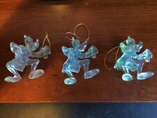 Three (3) Ghost Goofy Christmas Ornament by Avon Marked Disney; Never used.