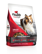 Nulo Freestyle Freeze-Dried Raw Lamb with Raspberries 13oz