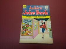 ARCHIE'S JOKE BOOK #58 Archie Series Comics 1961 Betty and Veronica Jughead