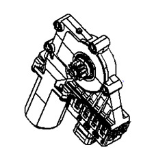 VAUXHALL WINDOW REGULATOR MOTOR - GENUINE NEW - 13132434