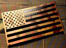 Standard nylon Infrared Multicam  Ir Us USA Flag Patch 3.5x2