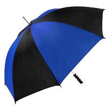 Susino Defender Blue and Black Golf Umbrella (Single Canopy)