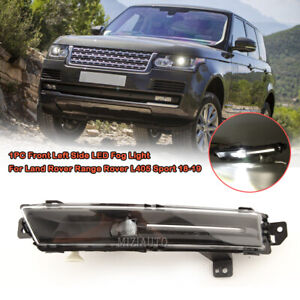 Left Side Bumper LED Fog Light For 2018-2019 Land Rover Range Rover L405 Sport