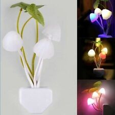Mushroom Light Sense Control Led Night Wall Lamp Light Bulb Fantastic FASHION cw