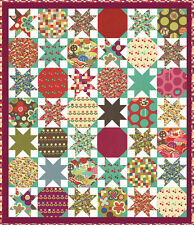 AVANT-GARDEN QUILT KIT Beautiful Moda Fabric by Momo - Large Quilt !!