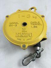 PWB Anchor ENDO EW-3 Spring Balancer Cast Aluminum 1 - 3 kg Cable Travel 1.3m