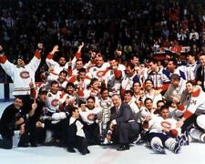 1993 MONTREAL CANADIENS TEAM PHOTO 8X10