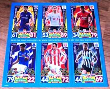 MATCH ATTAX Season 2017 2018 Tesco AND The Sun 6 x TRADING CARDS