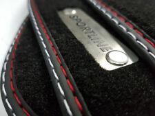 Fußmatten für CHRYSLER Sebring Cabrio Original Qualität Velours + Metal Logo