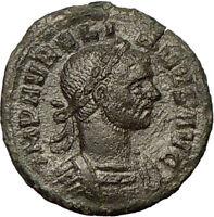 AURELIAN 270AD Very Rare Bronze Denarius Ancient Roman Coin Victory  i18151