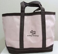 RARE The Skinny Cow Ice Cream Be Happy Live Healthy Pink Mocha Satchel Tote Bag