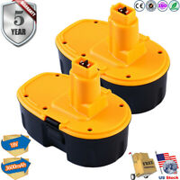 NEW Upgraded for DeWalt 18V 18 Volt XRP Battery DC9096 DC9098 DC9099 DW9095 -2pk