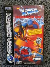 X-Men: Children Of The Atom   Sega Saturn   Complete   PAL