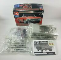 New Open Box 1962 Vintage Ford Thunderbird Model Kit 30081 AMT ERTL 1:25 Skill 2