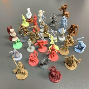 Lot 6pcs D&D Figures Dungeons & Dragons Miniatures Random