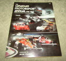 The Canadian Motorsport Annual 1981-82 by Wheelspin News