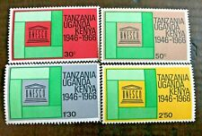 1966 KUT UNESCO 20 years- Kenya Uganda Tanzania MNH - Full Set