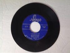 """Solomon Burke 45 rpm """"A Picture Of You"""" APOLLO 505"""
