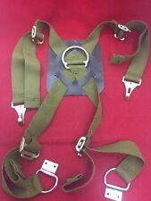 NEW MSA Mine Safety Harness Assembly 459425 Green Straps