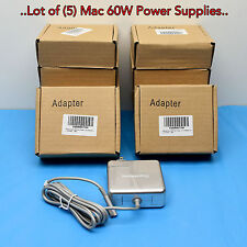 "{Lot of 5} 60W Power Charger for Apple MacBook Pro 13,13"" A1344 A1280 A1184"
