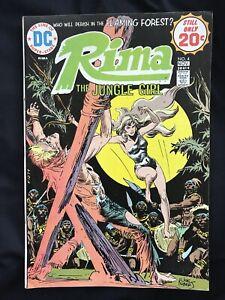 DC Comic Book Rima The Jungle Girl No. 4 1974 Comics