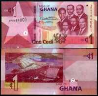 GHANA 1 CEDIS 2019 P 45 UNC