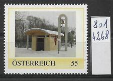 Österreich PM personalisierte Marke Kapelle zum Hl. Thomas 8014268 **