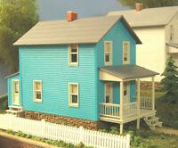 CITY CLASSICS BUILDING 118 HO COLORED COMPANY HOUSE Model Railroad Kit FREE SHIP