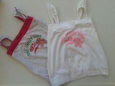 2 Canotte T-Shirt Sotto Giacca Colore Bianco/Grigio tg. 7 anni BluKids Originale