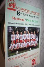 PROGRAMME )) MONTCEAU V PORTO VECCHIO )) 8eme tour Coupe de France 2000/2001