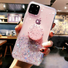 GLITTER POP UP HOLDER Case For iPhone SE 2020 XR X 11 Pro 7 Plus 8 XS Max Cover