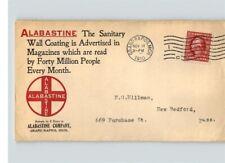 1910 ALABASTINE, Sanitary WALL COATING, Color Advertising, GRAND RAPIDS, Michiga